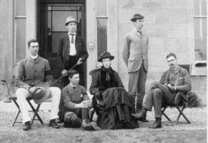 David III's children: Donald, Charles, Harry, Jane, David IV, Hamilton